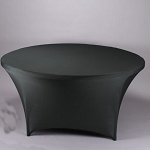 60 inch round Spandex fitted tablecloths